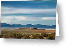 Death Valley Pano Greeting Card