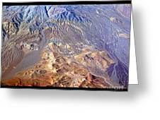Death Valley Planet Earth Greeting Card