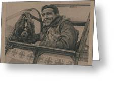 Debden Eagle Greeting Card
