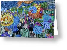 Decatur Lantern Parade Greeting Card