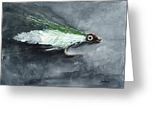Deceiver Fishing Fly Greeting Card