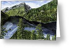 Deception Pass Painting Greeting Card