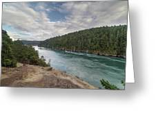 Deception Pass State Park Greeting Card