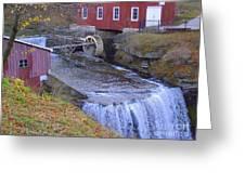 Decew Falls Greeting Card