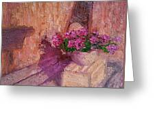 Deck Flowers #2 Greeting Card