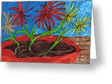 Deck Plant Greeting Card