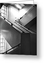 Deco Stairs Greeting Card