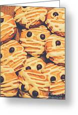 Decorated Shortbread Mummy Cookies Greeting Card