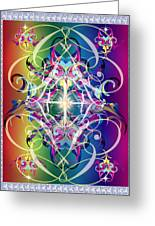 Decorative 10 Greeting Card