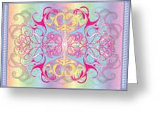 Decorative 11 Greeting Card