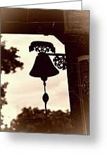 Decorative Bell Greeting Card