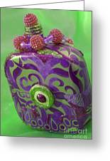 Decorative Bottle Greeting Card