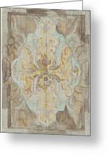 Decorative Design, Carel Adolph Lion Cachet, 1874 - 1945 Vs Greeting Card