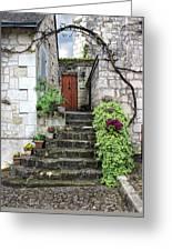 Decorative Stairway Greeting Card