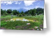 Dedegol Mountain - Turkey Greeting Card