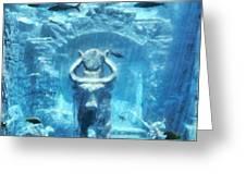 Deep Atlantis Greeting Card