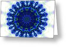 Deep Blue Greeting Card
