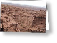 Deep Canyon In Utah Greeting Card