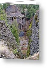 Deep Creek Gorge Greeting Card
