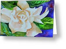 Deep Gardenia Greeting Card