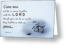 Deep  Greeting Card