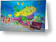 Deep Sea Treasures Greeting Card