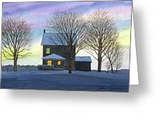 Deep Snow 2003 Greeting Card