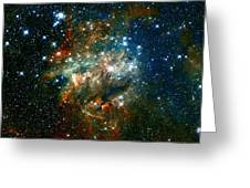 Deep Space Star Cluster Greeting Card