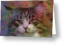 Deep Thoughts - Square Version Greeting Card