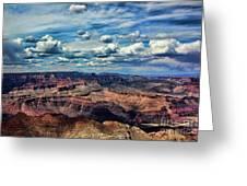 Deep Tones Grand Canyon  Greeting Card