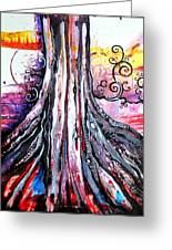 Deeply Rooted II Greeting Card
