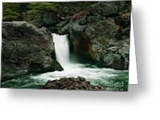 Deer Creek Falls Greeting Card