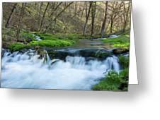 Deer Creek Ia 6 Greeting Card