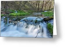 Deer Creek Ia 7 Greeting Card