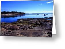 Deer Isle Sunday Greeting Card