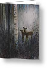 Deer Pair Greeting Card