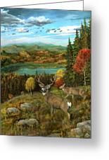 Deer Season Greeting Card