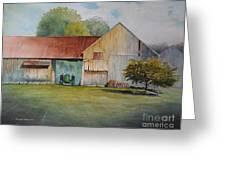 Deere On The Farm Greeting Card