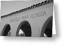 Deerfield Beach Florida Greeting Card