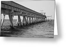 Deerfield Beach Pier Greeting Card