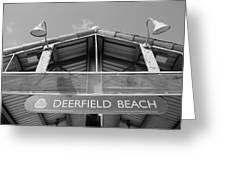 Deerfield Beach Greeting Card
