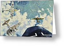 Defender. The Battle Of Berlin Greeting Card