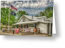 Defiance Road House St Charles Mo 7r2_dsc6907_04262017 Greeting Card