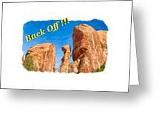 Defiant Rock 2 Greeting Card