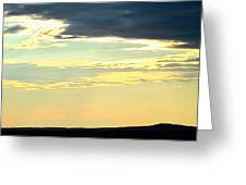 Defined Horizon Greeting Card