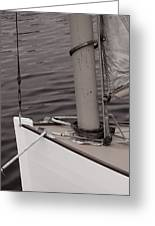 Defining A Catboat Greeting Card