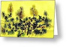 Deforestacion Greeting Card