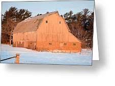 Defunct Winter Greeting Card