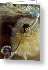 Degas: Arabesque, 1876-77 Greeting Card by Granger