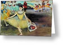 Degas: Dancer, 1878 Greeting Card